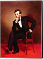 Framed Portrait of Abraham Lincoln