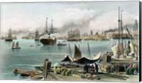 Framed Port of New Orleans