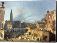 Framed Venice: Campo San Vidal and Santa Maria della Carita