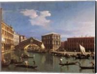 Framed Rialto Bridge, Venice