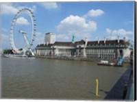 Framed London Eye and the Aquarium