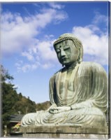Framed Statue of Buddha, Kamakura, Japan