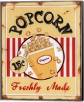 Framed Popcorn Freshly Made