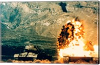 Framed Missile hitting an M47 Tank