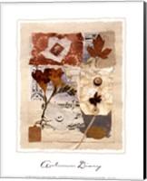 Framed Autumn Diary