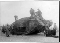 Framed Mark IV Tank