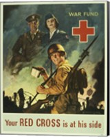 Framed Your Red Cross is at His Side