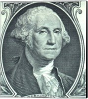 Framed George Washington Dollar