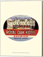 Framed Vintage Travel Label I