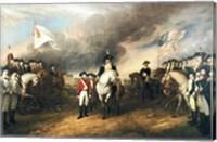 Framed Surrender of Lord Cornwallis