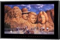 Framed Legend's Monument