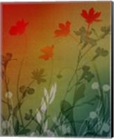 Framed kari's garden II