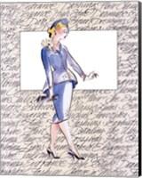 Framed 50's Fashion V