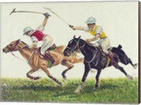 Framed Polo action