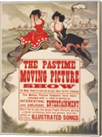 Framed Pastime moving picture show
