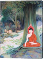 Framed Paintings of Life of Gautama Buddha