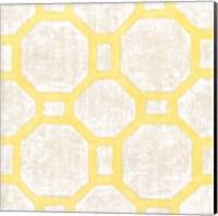 Framed Garden Tile V