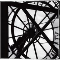 Framed Paris clock II