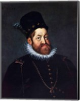 Framed Portrait of Emperor Rudolf II