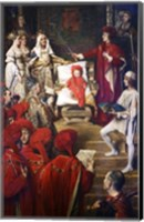 Framed Philip I, the Handsome, Conferring the Order of the Golden Fleece on his Son Charles of Luxembourg