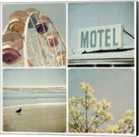 Framed Summer Memories 1, Motel