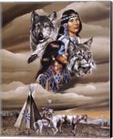 Framed Spirit of the Tribe