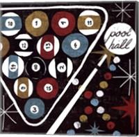 Framed Vegas - Pool Hall