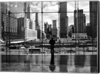 Framed Looking At Ground Zero