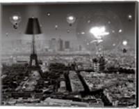 Framed Paris, The City of Lights