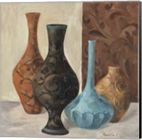 Framed Spa Vases II