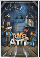 Framed Toys in the Attic