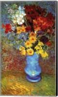 Framed Vase With Anemone