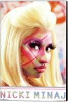 Framed Nicki Minaj - Face Paint