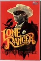 Framed Lone Ranger - Lone Ranger