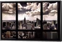 Framed New York Window