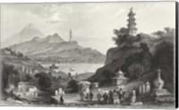 Framed Temple, at Lake Lee-Hoo