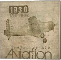 Framed Aviation I - Mini