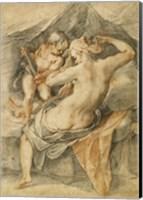 Framed Toilet of Venus