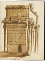 Framed Arch of Septimius Severus