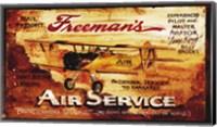 Framed Freemans Aviation