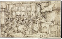 Framed Scene in a Forge