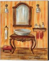 Framed Tuscan Bath II