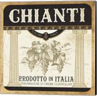 Framed Wine Labels III