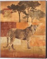 Framed Animals on Safari III