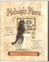Framed Midnight Moon
