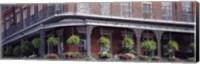 Framed Jackson Square, French Quarter, New Orleans, Louisiana