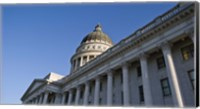 Framed Utah State Capitol Building, Salt Lake City, Utah