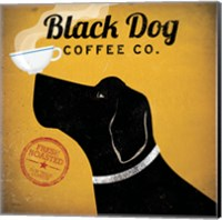 Framed Black Dog Coffee Co.