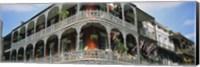 Framed French Quarter New Orleans LA USA