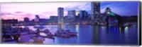 Framed Sunset, Inner Harbor, Baltimore, Maryland, USA